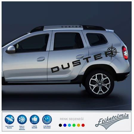 Dacia Duster Pusula Sticker