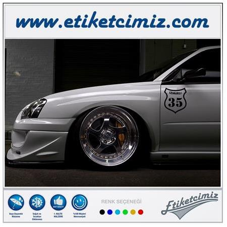 35 İzmirli Sticker