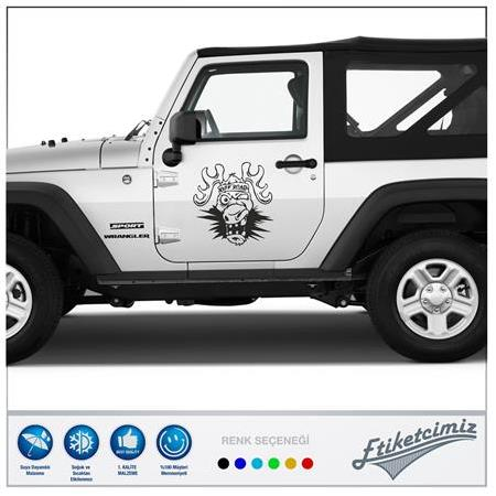 Jeep Off Road Sticker