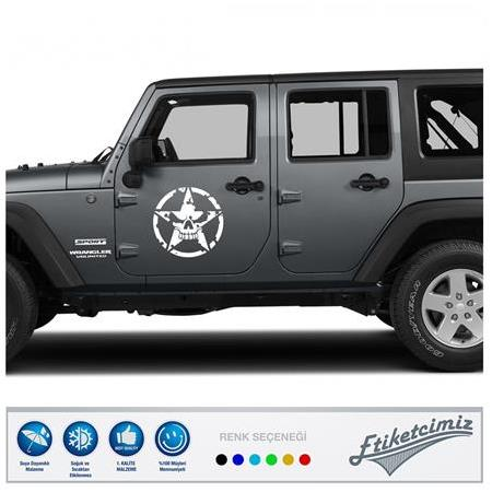 Jeep Star Sticker