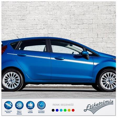Ford Fiesta Yan Şerit Sticker