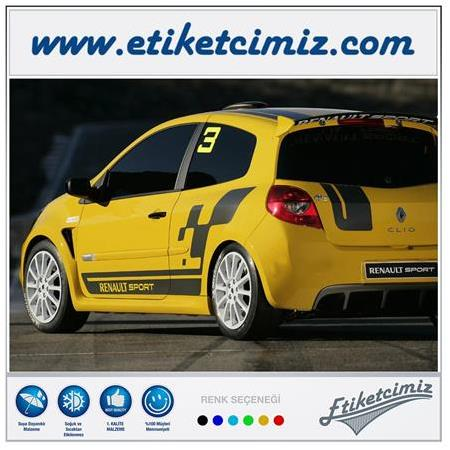 Renault Clio Cup Sticker