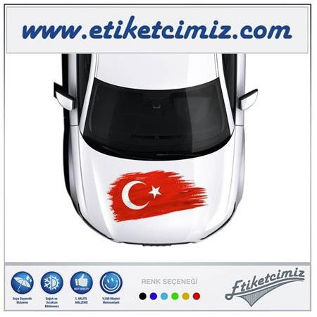 3d Bayrak Sticker