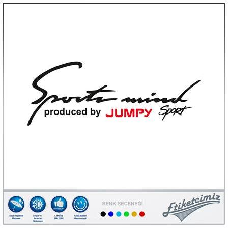 Citroen Jumpy Sports Mind Sticker