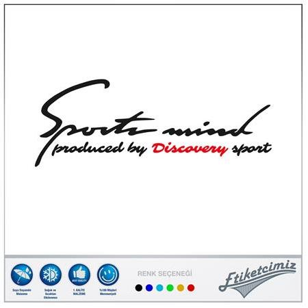 Land Rover Discovery Sports Mind Sticker