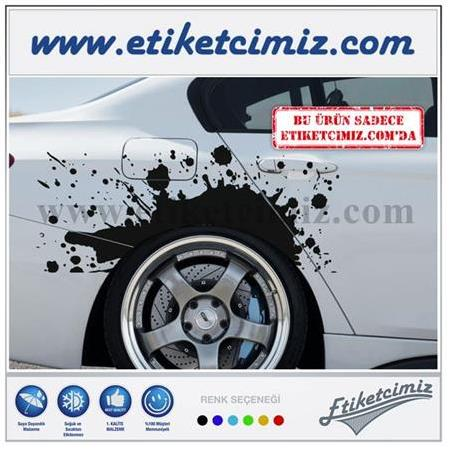 Çamur Lekesi Sticker Model 2